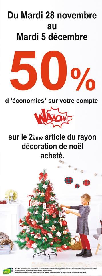Auchan Offre Deco Noel 2017 Cap Nor Pole Commercial Regional De