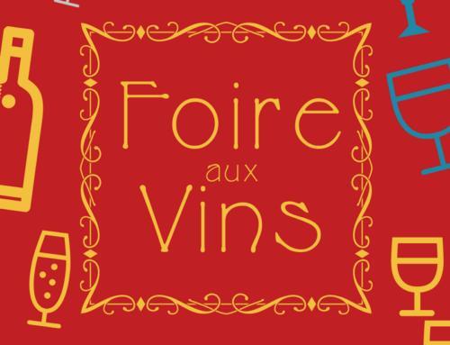 La foire aux vins 2021 a commencé