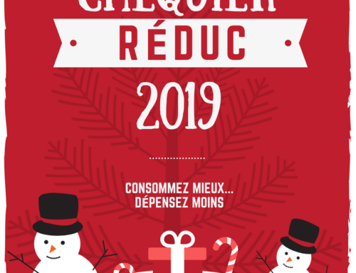 Chéquier de fêtes de fin d'année 2019