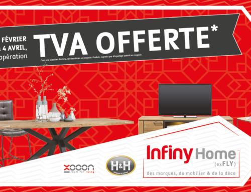 TVA offerte chez Infiny Home