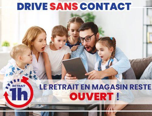 Le Drive sans Contact de JouéClub