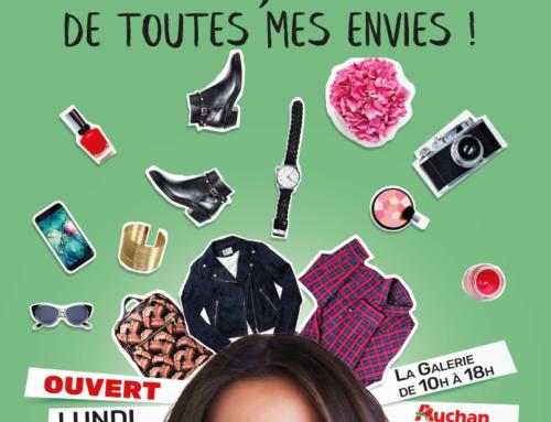 La Galerie et Auchan seront ouverts le lundi 2 avril