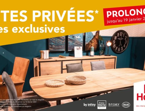 Ventes privées Infiny Home
